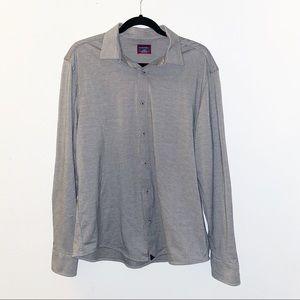 Hyde grey Untuckit long sleeve shirt